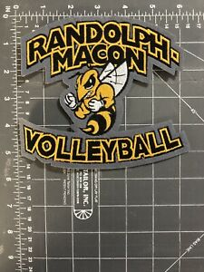 Randolph-Macon Volleyball Chenille Felt Letterman Jacket Patch College RMC VA VB