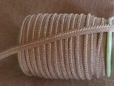 PIPING THREAD SILVER VERY LIGHT CHARLES MATHIEU 10MM sold per meter