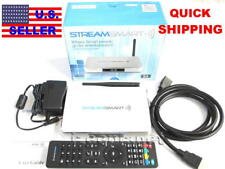 STREAMSMART S4 ANDROID TV BOX DUAL WIFI ETHERNET MEDIA STREAMING ENTERTAINMENT