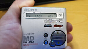 Sony Minidisc MZ-R70 Recorder Working Good Portable Audio
