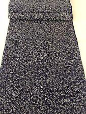 """VINTAGE 70s giapponese Kimono estivo in tessuto di cotone, venduto dalla metro, 35CM 13.7"""" (AA1500)"""