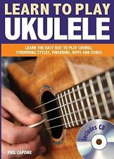 Learn to Play Ukulele (Music Bibles), Capone, Phil, Good Book