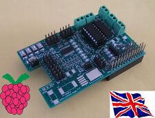 Rs-Pi L293D -2  4 Motor & 16 PWM / Servo Robot Board for Raspberry Pi
