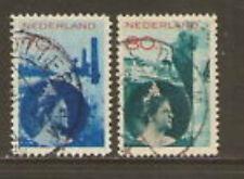 Nederland Netherlands 236-237 Koningin Wilhelmina  1931   gestempeld
