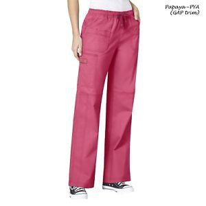 WonderWink Scrubs FLEX Women's Multi Pocket Elastic Waist Pant 5108 Petite