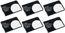 6 Pack Replacement for Motorola BT60 Battery - Fits Spice , Charm
