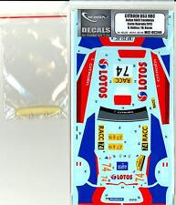 MF Zone Decals 1/24 CITROEN DS3 WRC Rally RACC Catalunya Costa Duranda 2013