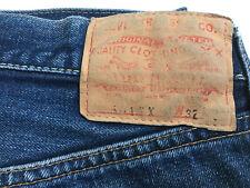 True Vintage Levis 501Xx 501 Xx Selvage dark blue denim Usa