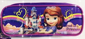 Disney Princess Sofia the First Authentic Licensed Pencil Case Pouch (BRAND NEW)