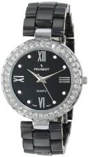 Peugeot Women's Ceramic Swarovski Crystal Bezel Watch