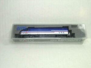 KATO N SCALE MP36PH LOCOMOTIVE VIRGINIA RAILWAY EXSPRESS 176-6126