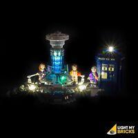 LIGHT MY BRICKS - LED Light kit for LEGO Dr Who 21034 Light Up Lego Tardis
