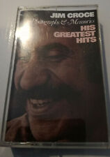 JIM CROCE HIS GREATEST HITS CASSETTE TAPE PHOTOGRAPHES AND MEMORIES