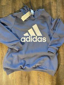 adidas essentials hoodie plus size woman 2XL Light Purple