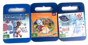 In The Night Garden Iggle Piggle Bulk Lot Of 3 DVD Childrens