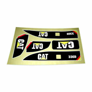 Waterproof Sticker for Huina 580 1580 TR-211m 23 Channel RC Excavator Amewi 1:14