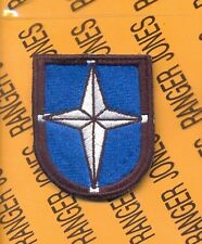 SOCEUR Special Operations Command EUROPE Airborne beret flash patch #2-B c/e f/e
