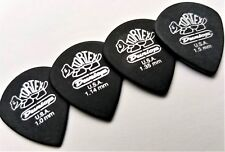Dunlop 482R Tortex Pitch Black Jazz III Guitar Picks 1.0,1.14,1.35,1.5 MM 4 Pack