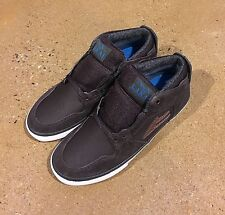 Lakai Telford AW Size 5 Coffee Suede Weather Treated SB BMX DC Skate Shoes