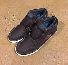 Lakai Telford AW Size 5 Coffee Suede Weather Treated SB BMX DC Skate Shoes