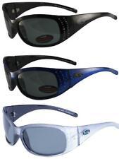 3 Pairs BluWater Biscayene Sunglasses Polarized Rhinestones Black Blue Silver