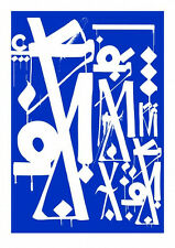 Retna Art Alliance Provocateurs Print curated by Shepard Fairey Obey Invader