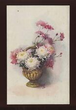 Artist drawn Alice Price King  Vase Flowers Tuck Oilette #9901 C1900s? PPC