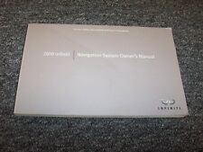 2010 Infiniti QX56 M35 M45 FX35 EX35 G37 Navigation System Owner Operator Manual