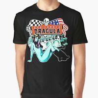 Rob Zombie Dragula T-Shirt Funny Cotton Tee Vintage Gift For Men Women