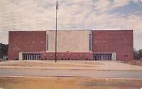 Elkhart Indiana~North Side High School Gymnasium~1961 Postcard