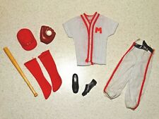 Barbie:  Ken VINTAGE Complete PLAY BALL Outfit!