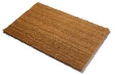 Coir Entrance Traditional Scraper Coconut Matting Natural 1.1m x 0.5m Doormat