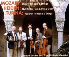 Mozart and Heiden: Horn Quartets; Turina: Piano Quartet (CD, Apr-1999, Gaspar...