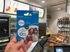 2 lebara mobile sim cards for Denmark