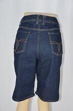 St Johns Bay 16P Average Dark Blue Wash Bermuda Long Jean Shorts Design Pockets
