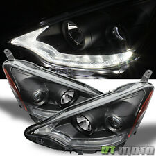 Black 2012-2014 Toyota Prius C Projector Headlights w/Daytime LED Running Light