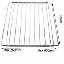 Adjustable Extendable Small Oven Stove Shelf Grill Rack 300mm x 260mm to 400mm
