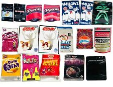 *NEW DESIGNS* ASSORTED EMPTY BAGS FOR SNACKS AND COOKIES CANDY FOODS