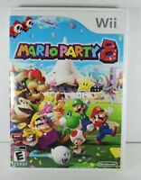 Mario Party 8 (Nintendo Wii, 2007) Complete w/ Manual Tested Free Shipping!