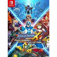 Rockman X Anniversary Collection  NINTENDO SWITCH JAPANESE IMPORT REGION FREE