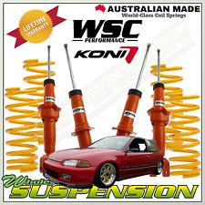 Lowering Kit for Honda Civic (EG/EH) 1992-1995 -50mm  KONI STR.T & COIL SPRINGS