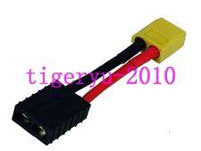 Male XT60 XT-60 Connector to Female TRX Traxxas Adapter Zippy Revo Slash LiPo