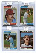1974 TOPPS-#619 MIKE ANDERSON  GEM MINT  F356