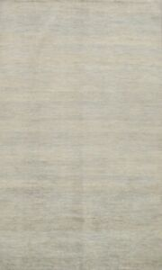 Black Friday Deal Contemporary Gabbeh Oriental Area Rug Wool Hand-knotted 6x10