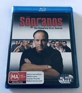 The Sopranos : Season 1 One Blu Ray 5-DISCS NEW & SEALED** MA15+ Region B Aus