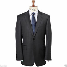 Chester by Chester Barrie Pick & Pick Suit Jacket Tailored Fit Charcoal 42R BNWT