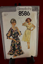 Simplicity 8586 Size 12 Clothing Pattern