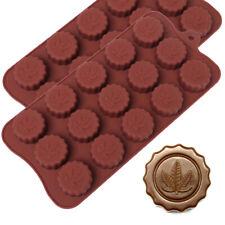 Marijuana Leaf Candy Making Molds Embossed Silicone Chocolate Ice Cube Trays, 2