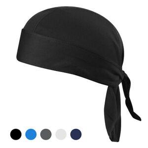 Bicycle Sweat-wicking Cap Beanie Cap Cycling Headscarf Headband Quick-dry N3K4
