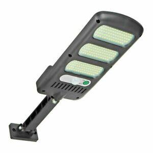 PDR* Faro lampione stradale pannello solare sensore di movimento 213 LED